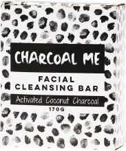 Facial Cleansing Bar Activated Coconut Charcoal 170g