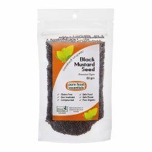 BLACK MUSTARD SEED WHOLE 80g