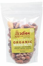 Activated Organic Mixed Nuts Activated with Fresh Whey 120g