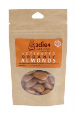 Activated Organic Almonds  40g