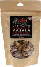 Activated Organic Masala Cashews  120g