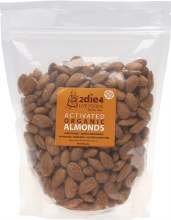 Activated Organic Almonds  600g