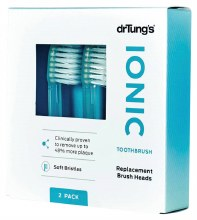 Ionic Toothbrush (Soft) Replacement Heads (Twin Pack) 2