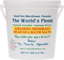 Dead Sea Bath Salts Bucket 2.27kg