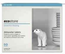 Dishwasher Tablets (50 Washes) Fragrance Free (Bulk) 1kg