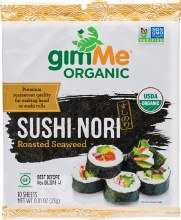 Roasted Seaweed Sushi Nori (10 Sheets) 23g