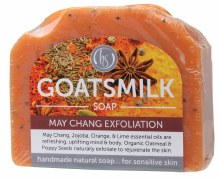 Goat's Milk Soap May Chang Exfoliation 140g