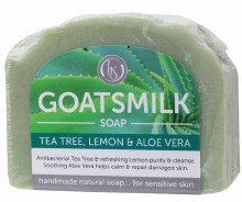 Goat's Milk Soap Tea Tree & Lemon 140g