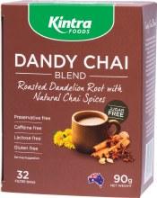 Dandy Chai - Roasted Dand. Root Tea Bags x 32 90g