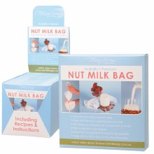 Nut Milk Bag Includes Recipes