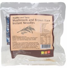 Brown Rice Instant Noodles Mushroom 60g