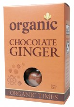 Chocolate Ginger Milk Chocolate 150g