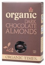 Chocolate Almonds Dark Chocolate 150g