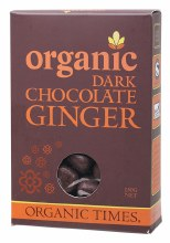 Chocolate Ginger Dark Chocolate 150g