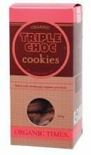 Cookies (Organic) Triple Choc Chip 150g