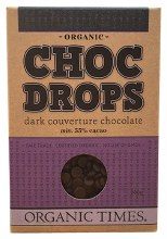 Choc Drops Dark Chocolate Couvertre Drops 200g