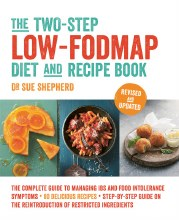 Two-Step Low-FODMAP Diet Book by Dr Sue Shepherd