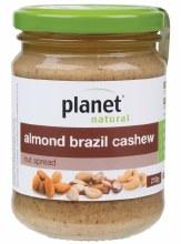 Nut Spread Almond Brazil Cashew 250g