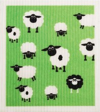 100% Biodegradable Dishcloth Sheep 1
