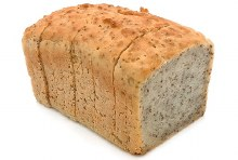 GLUTEN FREE BROWN RICE & CHIA TINNED LOAF 749G (SLICED THERMO BAGGED)