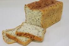 GLUTEN FREE PALEO TINNED LOAF 600G (SLICED THERMO BAGGED)