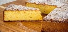 Orange & Almond Organic Round Cake Large GLUTEN FREE & DAIRY FREE