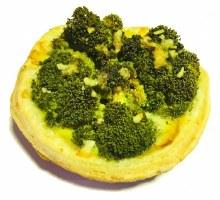 Broccoli Parmesan & Leek Organic Tart Large