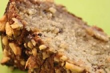 Banana & Walnut Organic Cake Hi Top Large VEGAN
