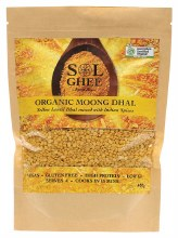 Organic Moong Dhal Yellow Lentil Dhal Mix 400g