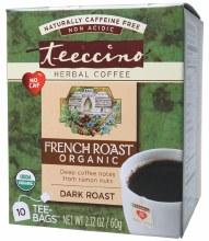 Herbal Coffee Bags French Roast 10