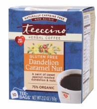 Herbal Coffee Bags Dandelion Caramel Nut 10