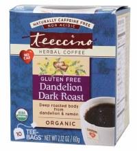 Herbal Coffee Bags Dandelion Dark Roast 10