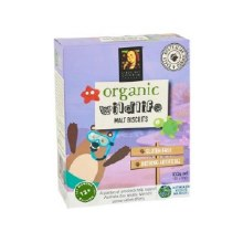Organic Wildlife Biscuits Individually Wrapped - Malt