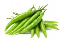 Chillies Green Cayene 250gm