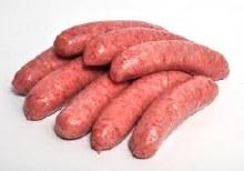 Beef Sausages  1/2 Dozen