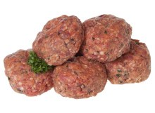 Beef Rissoles 1/2 dozen