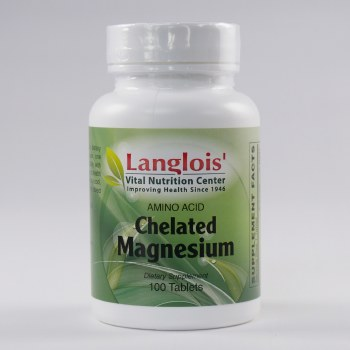 Chelated Magnesium 100mg 100 Tablets
