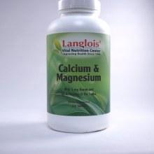 Calcium and Magnesium 250 Tablets