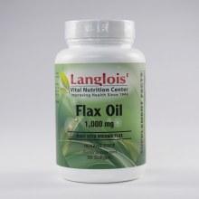 Organic Flax Oil 90 Softgels