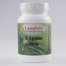 L-Lysine 500mg 100 Tablets