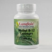 Methyl B-12 3000mcg 50 Lozenges