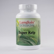 Super Kelp 500mcg 500 Tablets