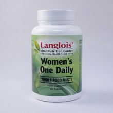 Woman's One Daily Whole Food Multi 60 Tablets