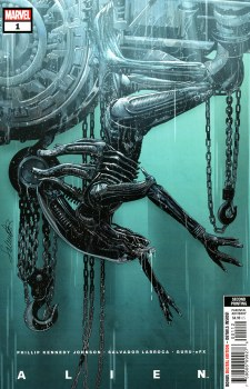 Alien #1 Cover U 2nd Ptg Salvador Larroca Variant Cover