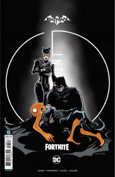 Batman Fortnite Zero Point #5 Premium Variant E Donald Mustard Card Stock Cover