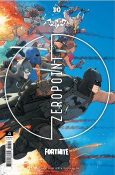Batman Fortnite Zero Point #4 (Of 6) Cover A Regular Mikel Janin Cover