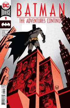 Batman The Adventures Continue #1 SECOND PRINT Cover G Dave Johnson Recolored Variant Cover