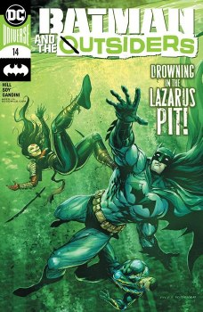 Batman And The Outisders (2019)  #14 Cover A Tyler Kirkham Man Cover