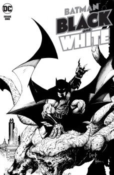 Batman Black & White Vol 3 #1 Cover A Regular Greg Capullo Cover