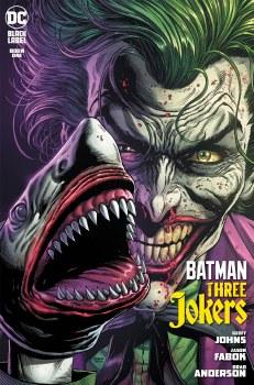 Batman Three Jokers #1 Cover G SECOND PRINTING Joker Shark Variant Cover
